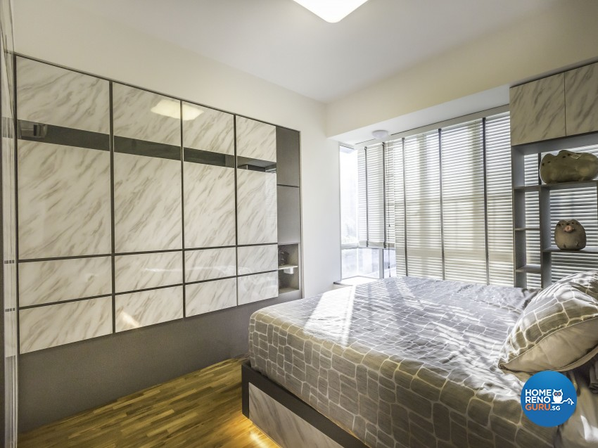 Contemporary Design - Bedroom - Condominium - Design by Summit Design Studio