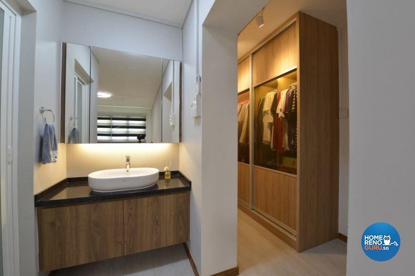 Modern Design - Bedroom - HDB 5 Room - Design by Summit Design Studio