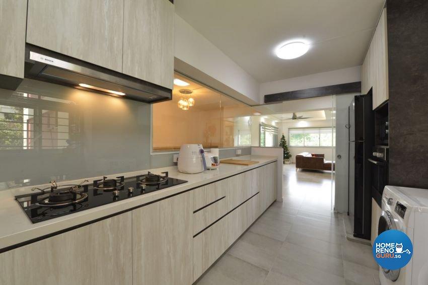 Modern Design - Kitchen - HDB 5 Room - Design by Summit Design Studio