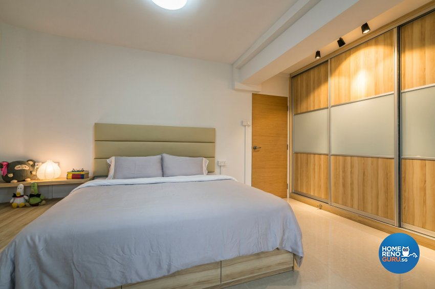 Industrial, Scandinavian Design - Bedroom - HDB 4 Room - Design by Summit Design Studio