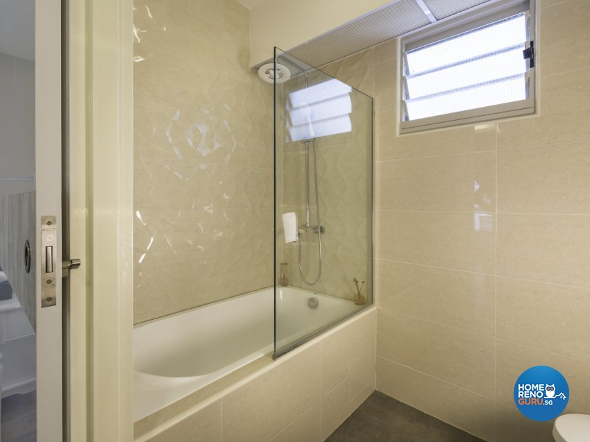 Contemporary, Modern Design - Bathroom - HDB 4 Room - Design by Summit Design Studio