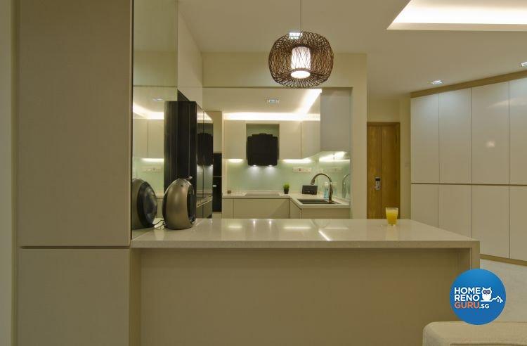 Contemporary, Minimalist, Scandinavian Design - Kitchen - Condominium - Design by Summit Design Studio