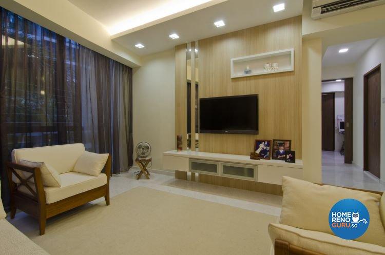 Contemporary, Minimalist, Scandinavian Design - Living Room - Condominium - Design by Summit Design Studio