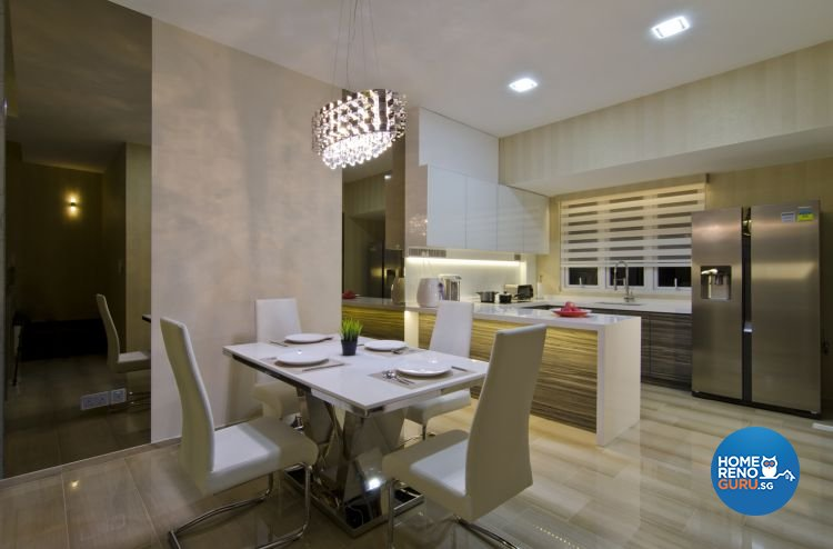 Minimalist, Modern, Scandinavian Design - Dining Room - Landed House - Design by Summit Design Studio