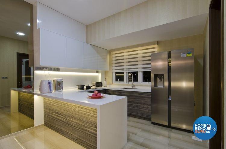 Minimalist, Modern, Scandinavian Design - Kitchen - Landed House - Design by Summit Design Studio