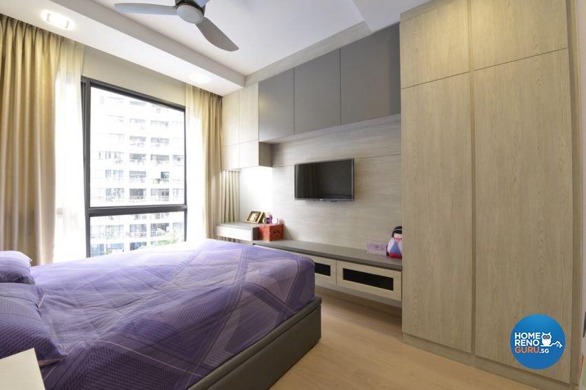 Modern Design - Bedroom - Condominium - Design by Summit Design Studio