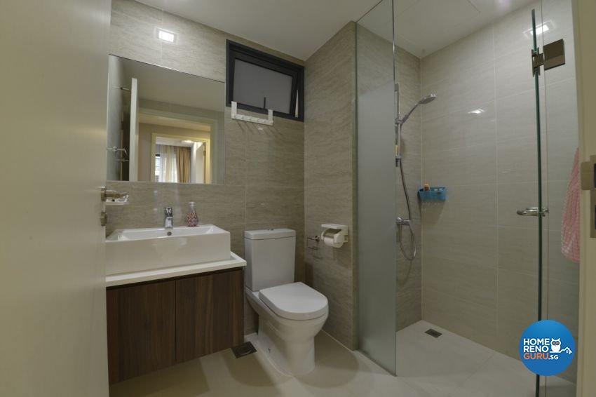 Modern Design - Bathroom - Condominium - Design by Summit Design Studio