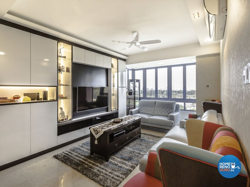 Modern Design - Living Room - Condominium - Design by Summit Design Studio