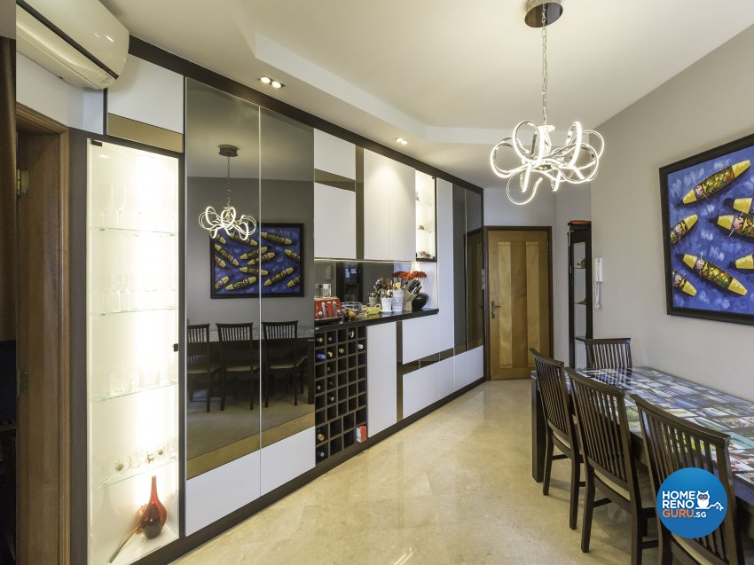 Modern Design - Dining Room - Condominium - Design by Summit Design Studio
