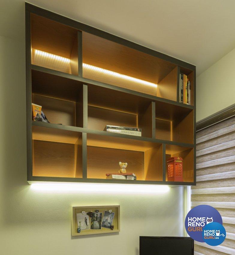 Modern Design - Study Room - Condominium - Design by Summit Design Studio
