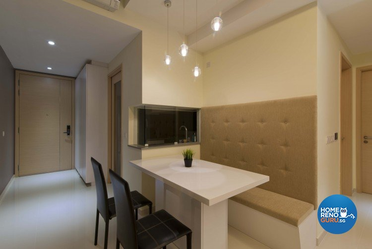 Classical, Contemporary, Modern Design - Dining Room - HDB 4 Room - Design by Sun Hup Interior Contracts