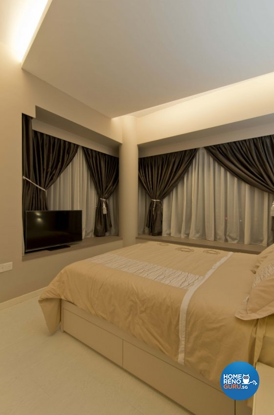 Classical, Contemporary, Modern Design - Bedroom - HDB 4 Room - Design by Sun Hup Interior Contracts
