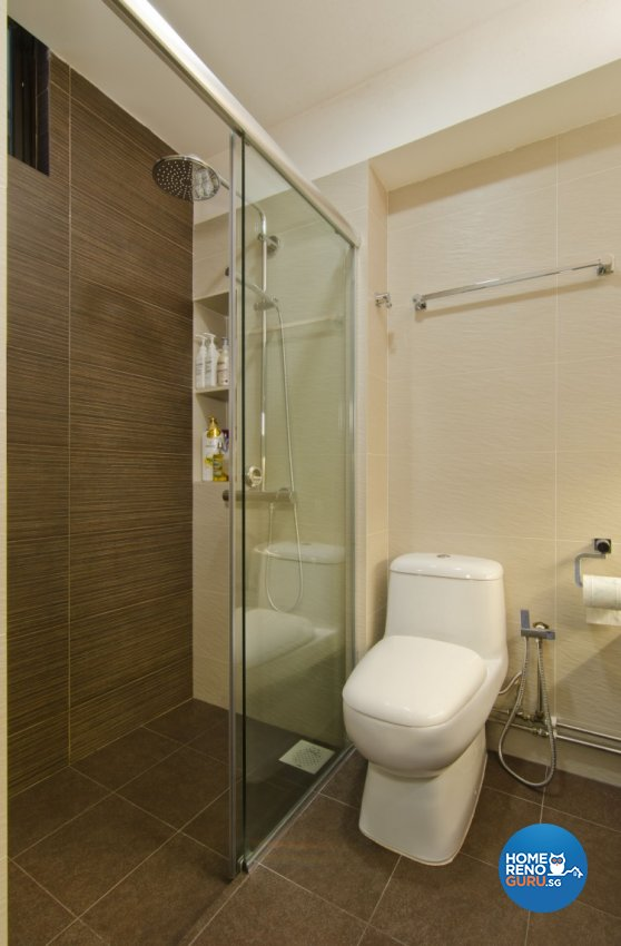 Contemporary, Resort Design - Bathroom - HDB 4 Room - Design by Sun Hup Interior Contracts