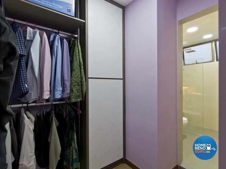 Classical, Contemporary Design - Bedroom - Condominium - Design by Sun Hup Interior Contracts
