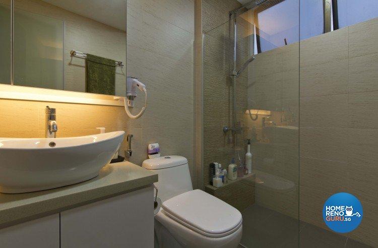 Classical, Contemporary Design - Bathroom - Condominium - Design by Sun Hup Interior Contracts