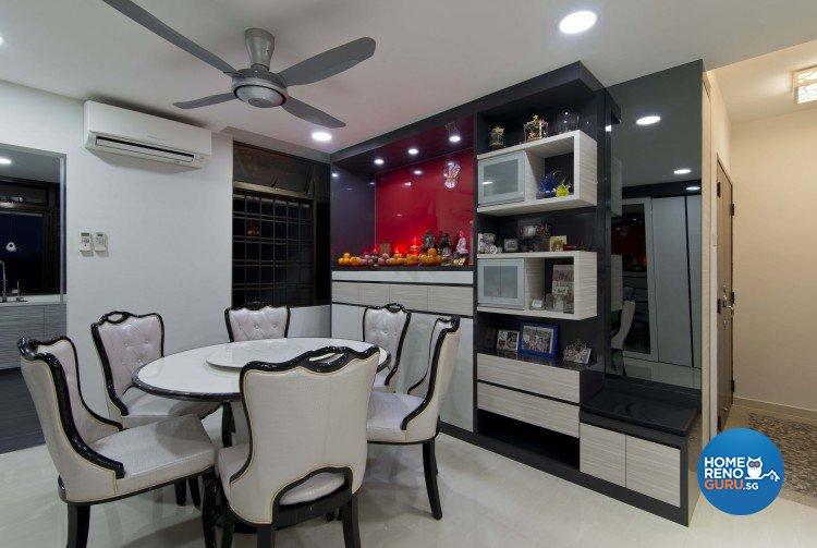 Classical, Contemporary Design - Dining Room - Condominium - Design by Sun Hup Interior Contracts
