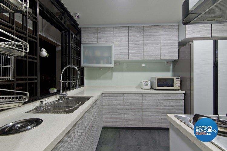 Classical, Contemporary Design - Kitchen - Condominium - Design by Sun Hup Interior Contracts