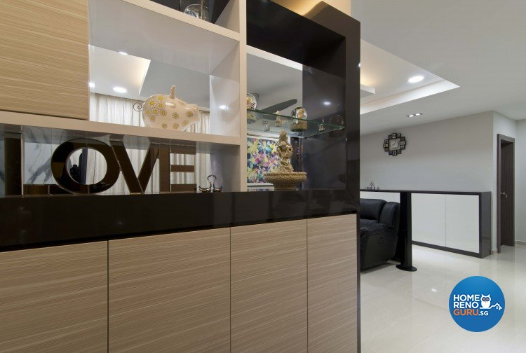 Classical, Contemporary Design - Living Room - Condominium - Design by Sun Hup Interior Contracts