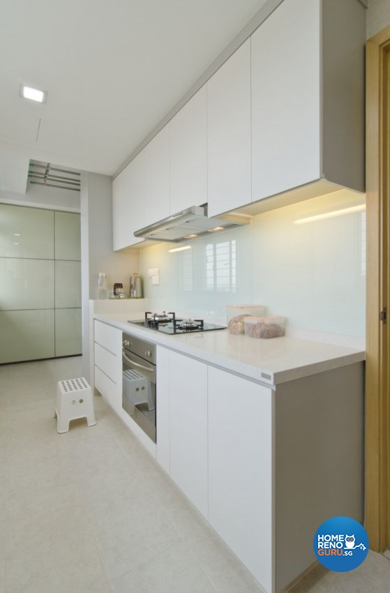 Minimalist, Modern Design - Kitchen - Condominium - Design by Sun Hup Interior Contracts