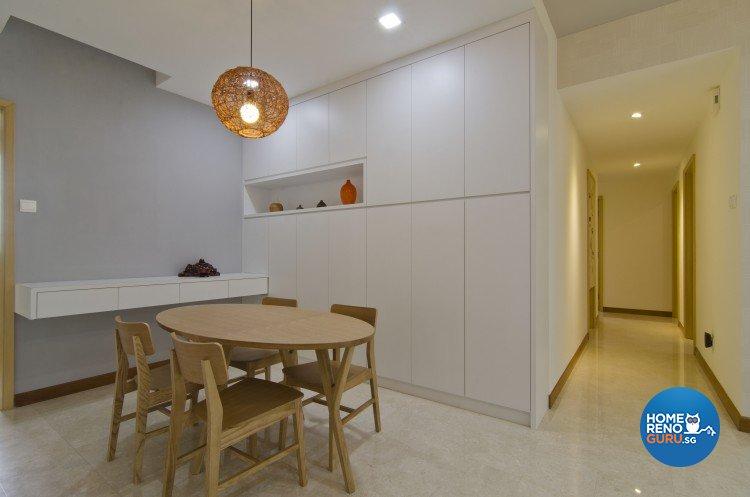 Minimalist, Modern Design - Dining Room - Condominium - Design by Sun Hup Interior Contracts
