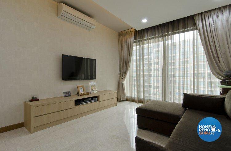 Minimalist, Modern Design - Living Room - Condominium - Design by Sun Hup Interior Contracts