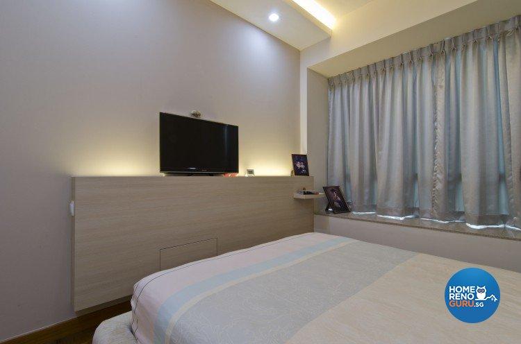 Minimalist, Modern Design - Bedroom - Condominium - Design by Sun Hup Interior Contracts