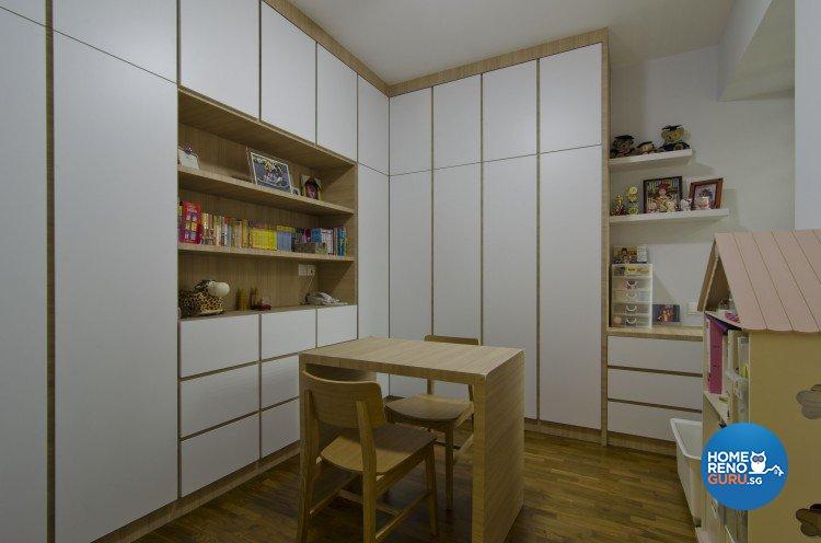 Minimalist, Modern Design - Study Room - Condominium - Design by Sun Hup Interior Contracts