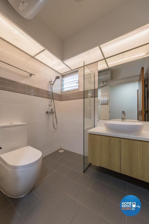 Minimalist, Scandinavian Design - Bathroom - Others - Design by Swiss Interior Design Pte Ltd