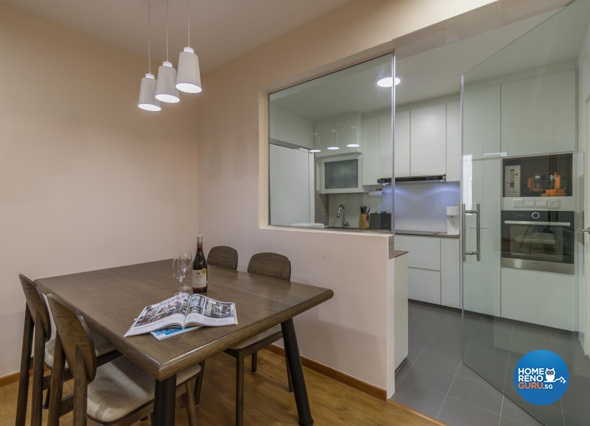 Minimalist, Scandinavian Design - Dining Room - Others - Design by Swiss Interior Design Pte Ltd