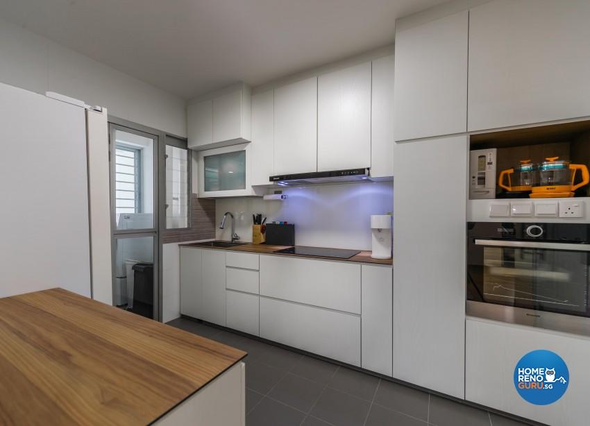 Minimalist, Scandinavian Design - Kitchen - Others - Design by Swiss Interior Design Pte Ltd