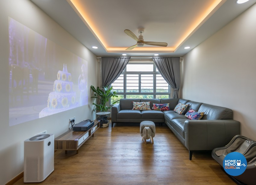 Minimalist, Scandinavian Design - Living Room - Others - Design by Swiss Interior Design Pte Ltd