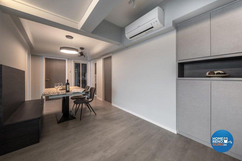 Contemporary, Modern Design - Dining Room - Condominium - Design by Swiss Interior Design Pte Ltd