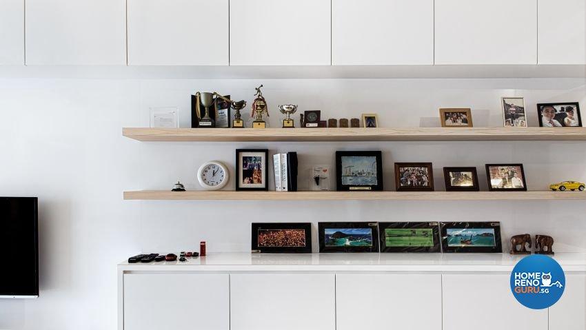 Modern Design - Living Room - Landed House - Design by Swiss Interior Design Pte Ltd