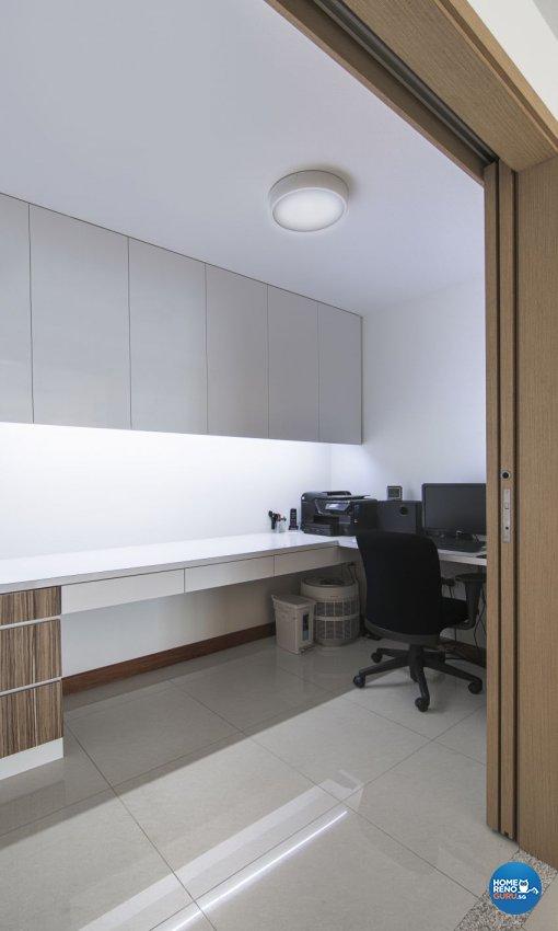 Modern Design - Study Room - Landed House - Design by Swiss Interior Design Pte Ltd