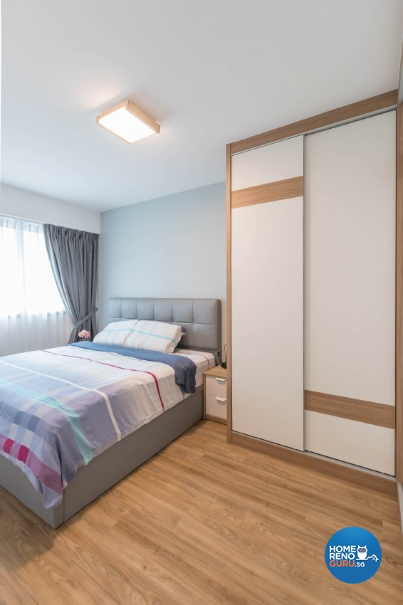 Scandinavian Design - Bedroom - HDB 4 Room - Design by Swiss Interior Design Pte Ltd
