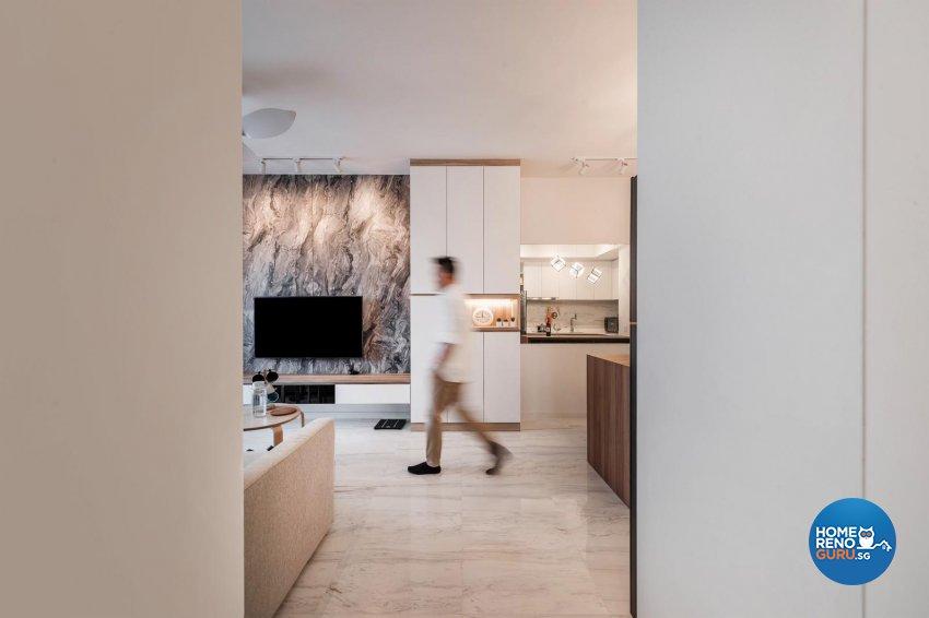 Contemporary, Modern, Scandinavian Design - Living Room - Condominium - Design by Swiss Interior Design Pte Ltd