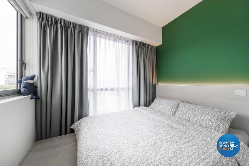 Contemporary, Modern, Scandinavian Design - Bedroom - Condominium - Design by Swiss Interior Design Pte Ltd