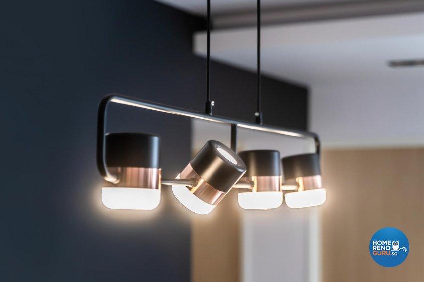 Contemporary, Modern Design - Dining Room - HDB 5 Room - Design by Swiss Interior Design Pte Ltd