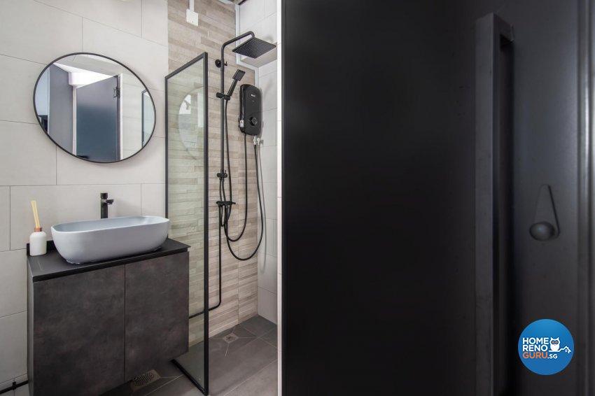 Contemporary, Modern Design - Bathroom - HDB 5 Room - Design by Swiss Interior Design Pte Ltd