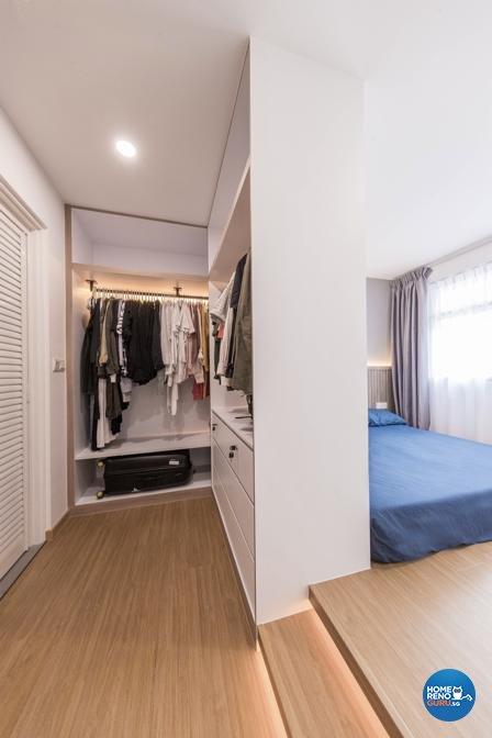 Scandinavian Design - Bedroom - HDB 3 Room - Design by Swiss Interior Design Pte Ltd