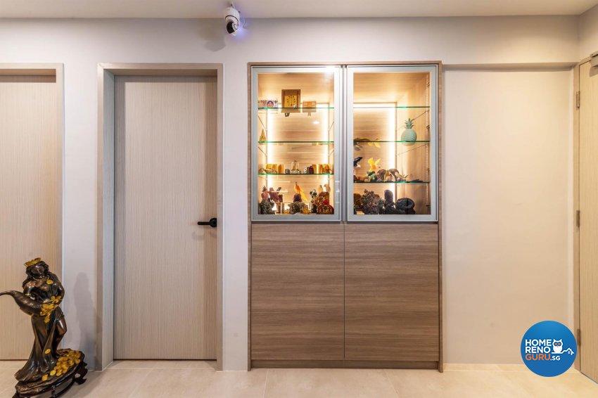 Modern, Scandinavian Design - Living Room - HDB Executive Apartment - Design by Swiss Interior Design Pte Ltd