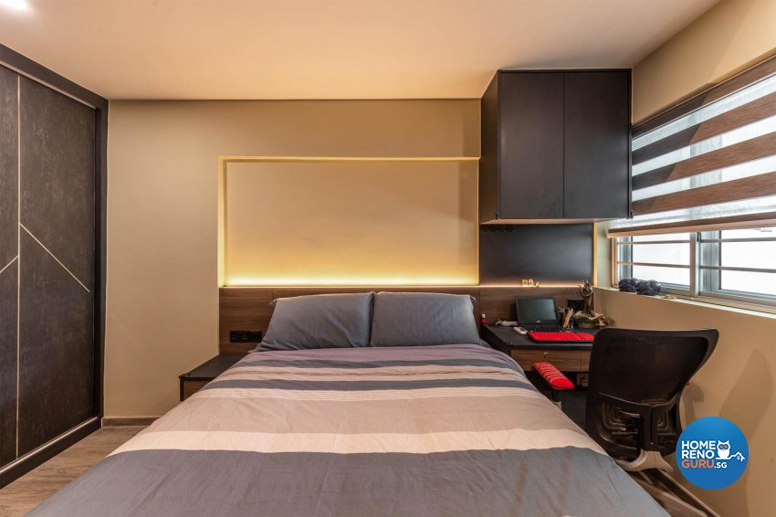 Modern, Scandinavian Design - Bedroom - HDB Executive Apartment - Design by Swiss Interior Design Pte Ltd