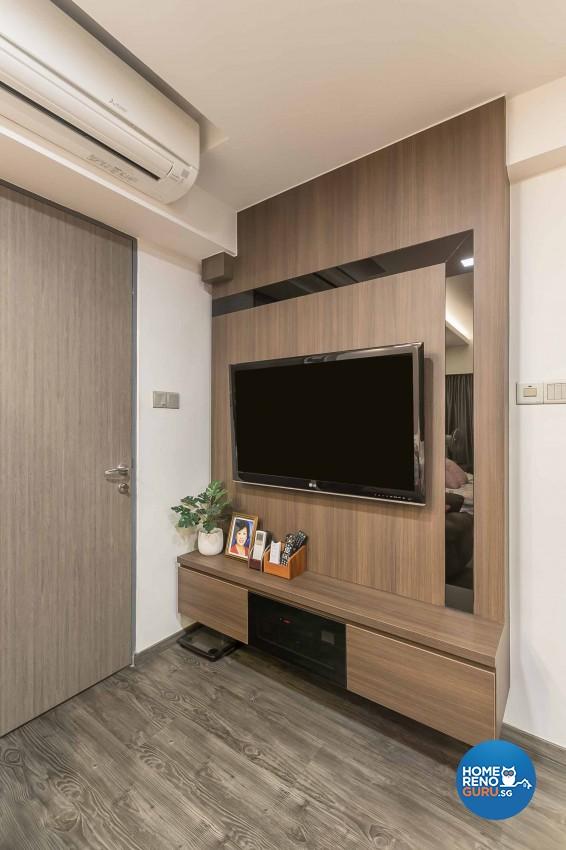 Modern, Scandinavian Design - Living Room - HDB 5 Room - Design by Swiss Interior Design Pte Ltd