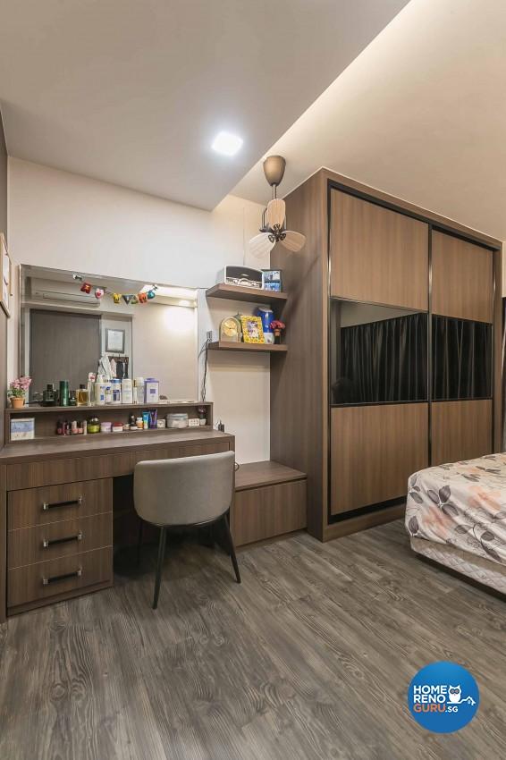 Modern, Scandinavian Design - Bedroom - HDB 5 Room - Design by Swiss Interior Design Pte Ltd