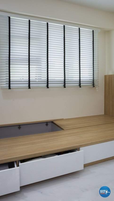 Modern, Scandinavian Design - Bedroom - HDB 4 Room - Design by Swiss Interior Design Pte Ltd