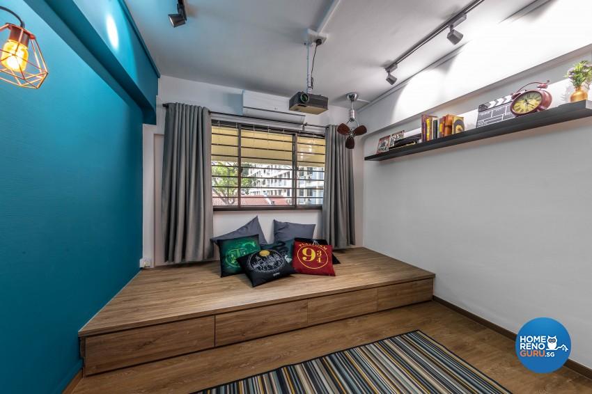 Design - Bedroom - HDB 4 Room - Design by Swiss Interior Design Pte Ltd