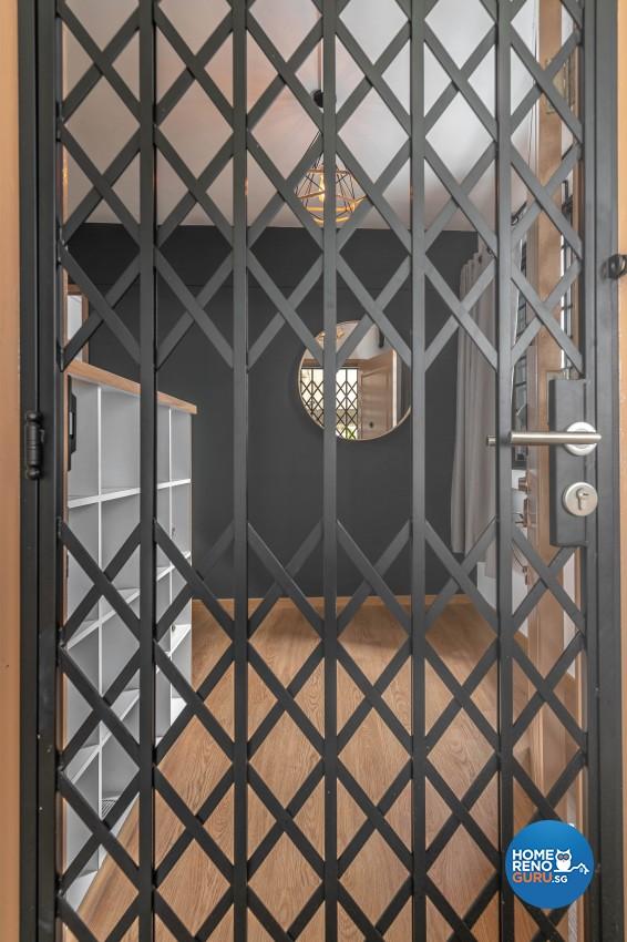 Design - Living Room - HDB 4 Room - Design by Swiss Interior Design Pte Ltd