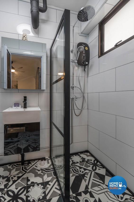 Design - Bathroom - HDB 4 Room - Design by Swiss Interior Design Pte Ltd
