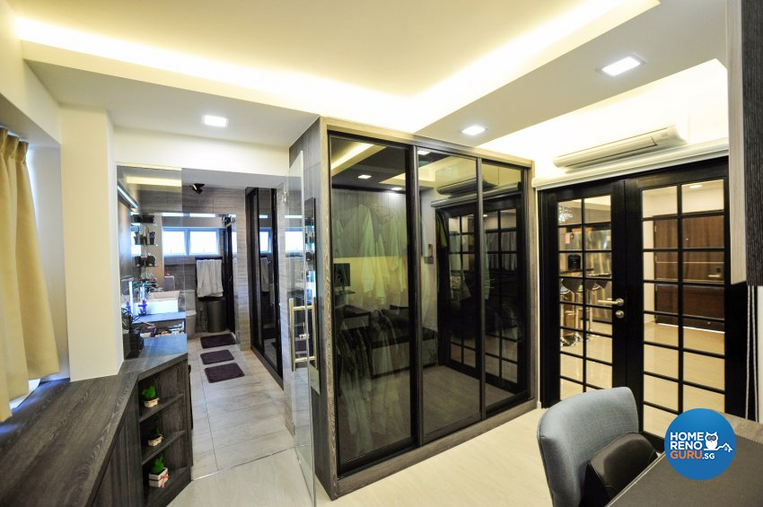 Contemporary Design - Study Room - HDB 5 Room - Design by Swiss Interior Design Pte Ltd