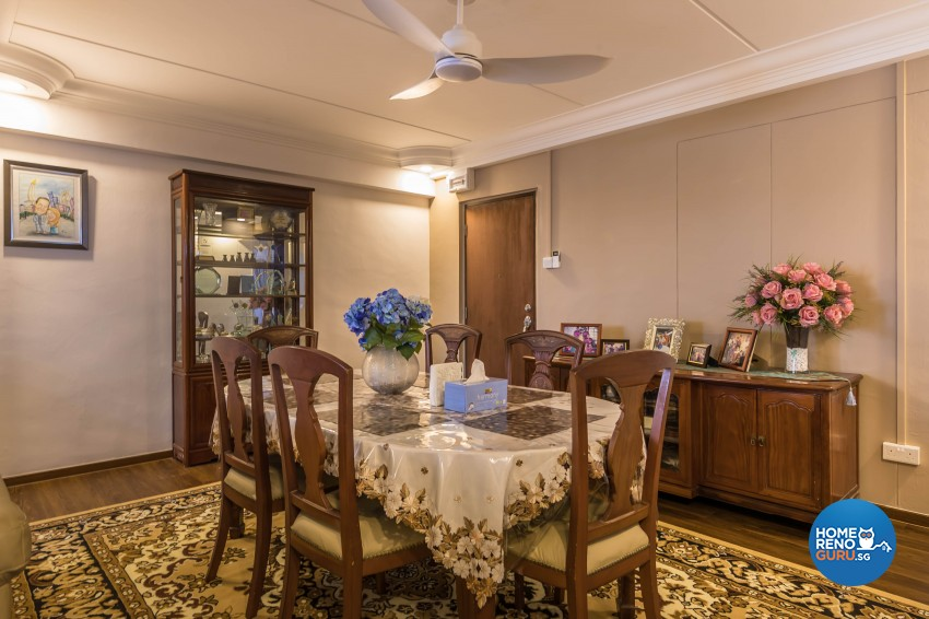 Scandinavian Design - Dining Room - HDB 5 Room - Design by Swiss Interior Design Pte Ltd